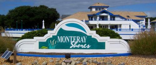 monteray shores entrance clubhouse